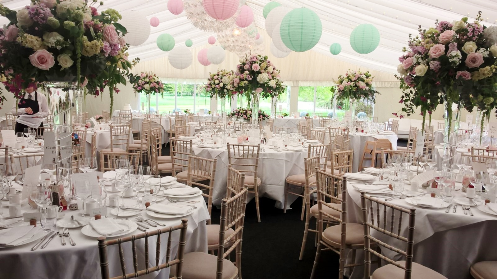 spring weddings at chippenham park crown catering cambridge