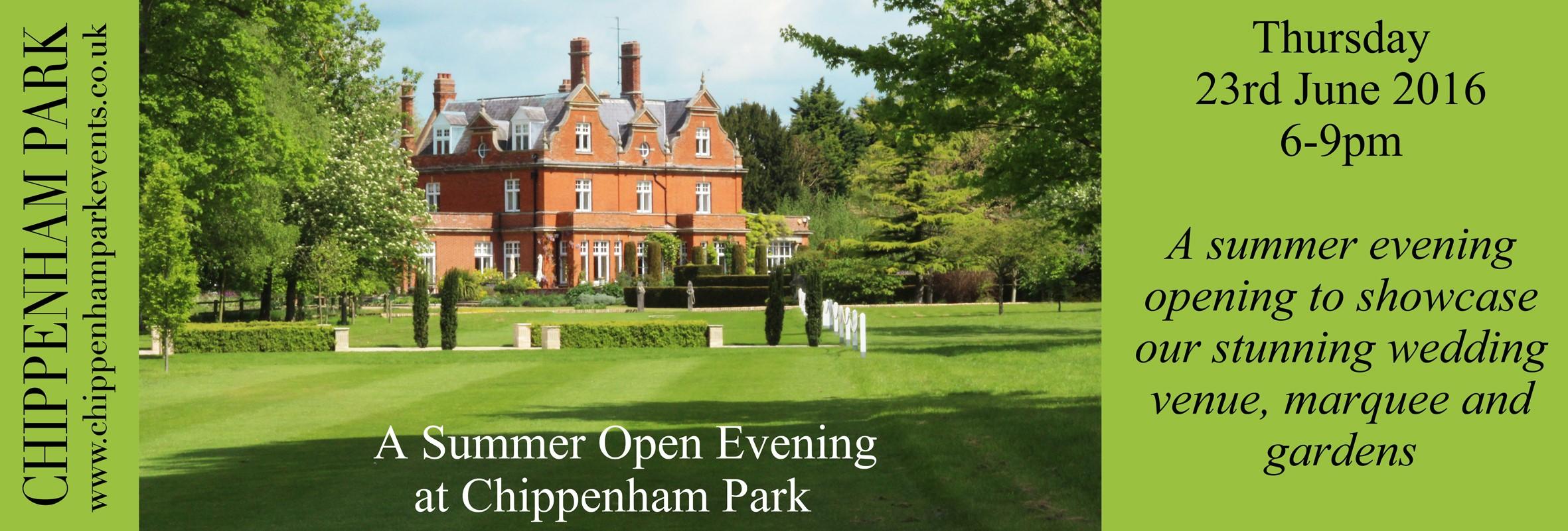 Chippenham Park Open Evening